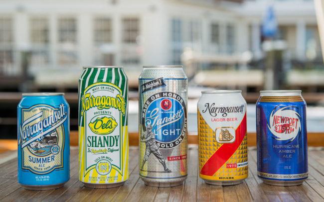 Gansett Cruises, Rhode Island Beers