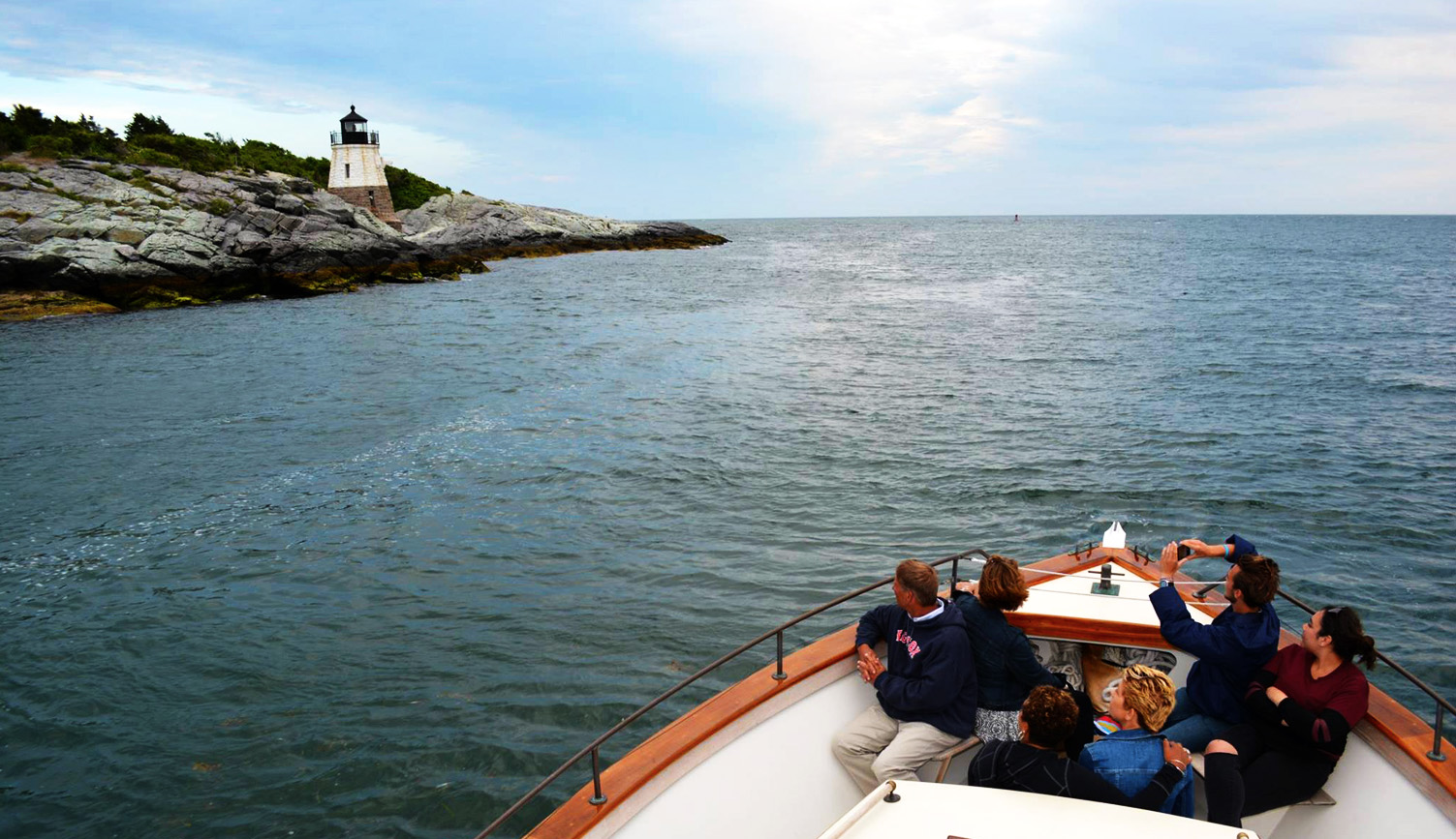 Gansett Cruises, Home Slider, Lighthouse, Newport, cruises, boating, Rhode Island, Newport Rhode Island